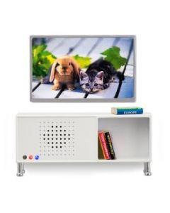 Lundby Småland stereomøbel og tv-sett
