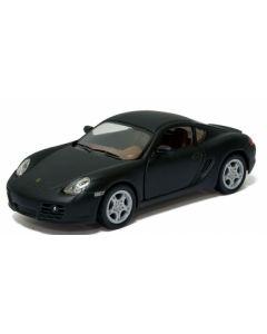 Porsche samlebil metall - 12cm - svart
