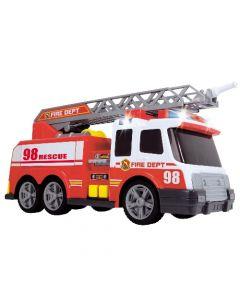 Brannbil - 32 cm - med luftpumpefunksjon