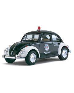 1967 VW classic Politibil 12cm - metall die cast