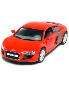 Audi R8 1:36 rød
