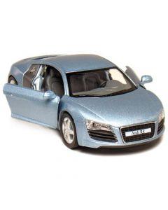 Audi R8 1:36 lys blå