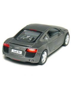 Audi R8 1:36 mørk grå