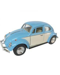 Volkswagen 1967 Classical Beetle Ivory Door 12cm - blå