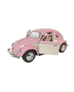 Volkswagen 1967 Classical Beetle Ivry Door 12cm - rosa