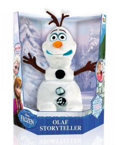 Disney Frozen Olaf storyteller i plysj - Norsk tale