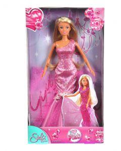Steffi Love rosa - asymmetrisk kjole