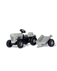 Gråtass stor trå-traktor fra Rolly Toys