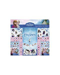 Disney Frozen megastort klistremerkesett i 500 deler