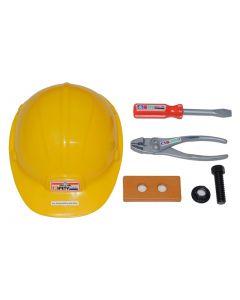 Hjelm med verktøy 6 deler