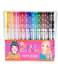 TOPModel fargeblyanter sett 24 farger