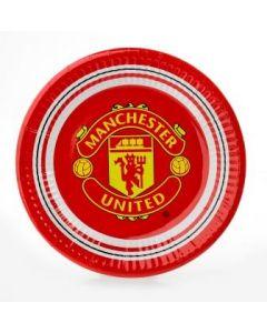 Manchester United tallerken - 20cm 10 deler