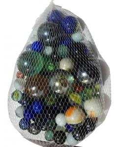 Klinkekuler - 1 kilo i netting