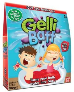 Gelli Baff 600 g - rød  badeslush