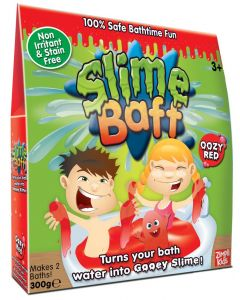Slime Baff 300 g - rødt badeslim