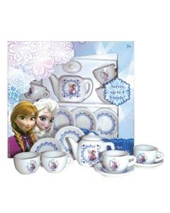Disney Frozen tesett i porselen - 10 deler