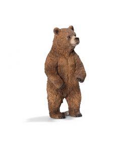 Schleich Grizzly bjørn - hunndyr