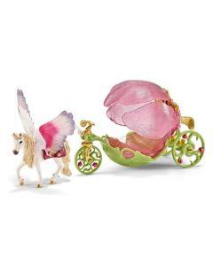 Schleich Elf carriage festive