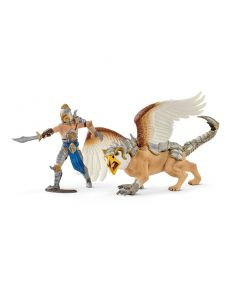 Schleich Warrior with griffin
