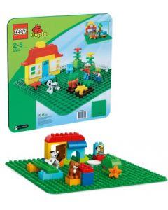 LEGO DUPLO 2304 stor grønn byggeplate