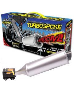 Turbospoke - lager kule motorsykkellyder til din sykkel - sett på TV!