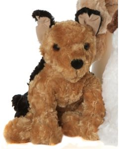 Molli Toys hund plysjfigur - 25cm