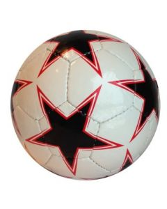 Fotball stjernemønster 19cm