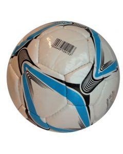 Fotball blått mønster 19cm