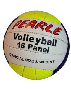 Volleyball gul/hvit/blå Ø:19cm