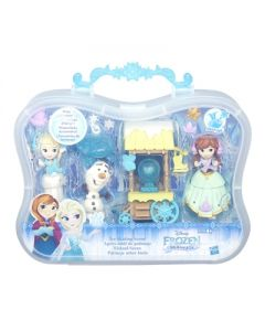 Disney Frozen Small Doll Story Pack - Ice Skating Scene