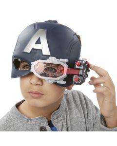Avengers Captain America Stealth Vision Helmet - hjelm med lys
