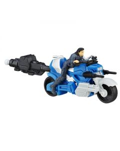 Avengers Winter Soldier Blast-Action Cycle kjøretoy 6cm