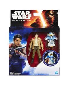 Star Wars E7 9,5cm figurer Armor pakning - Poe Dameron
