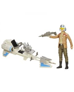 Star Wars E7 Hero Series 30cm figurer og kjøretøy - Speed Bike