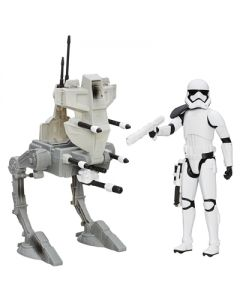 Star Wars E7 Hero Series 30cm figurer og kjøretøy - First Order Assaurlt Walker