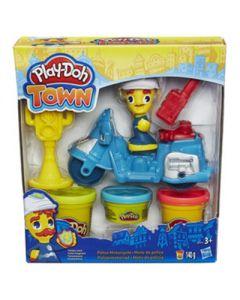 Play-Doh Town Mini Vehicle - Politimotorsykkel