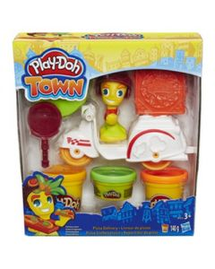 Play-Doh Town Mini Vehicle - Pizzabudskuter