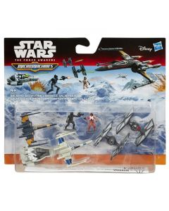 Star Wars E7 MM Deluxe Vehicles - Galactic Showdown