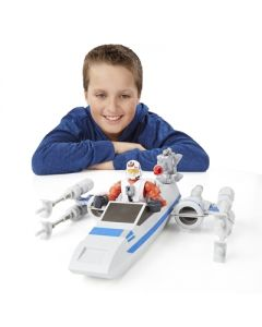 Star Wars Hero Masher The Force Awakens Attack Vehicle - Resistance X-Wing & Resistance Pilot