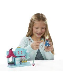 Disney Frozen liten dukke lekesett - Elsa og Arendelle godtebutikk