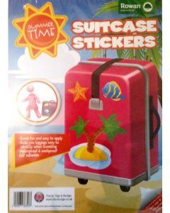 Klistremerker til koffert - feriegrafikk