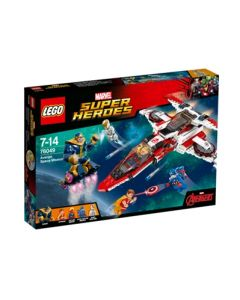 LEGO Super Heroes Avenjet på romoppdrag 76049