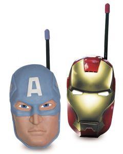 Avengers Iron Man og Captain America walkie talkie