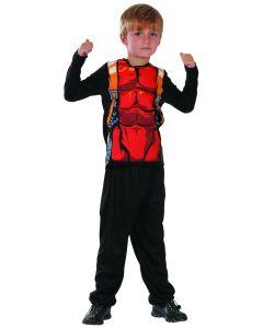 Superheltkostyme til barn - 130 cm