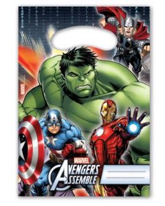 Avengers power godteposer - 6 stk