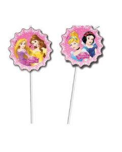 Disney Princess dreaming sugerør - 6 stk