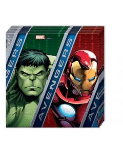 Avengers power servietter -  20 stk