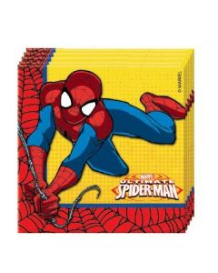 SPIDER-MAN power servietter - 20 stk