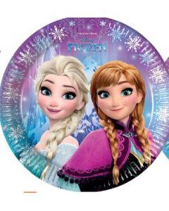 Disney Frozen tallerken 23 cm - 8 stk
