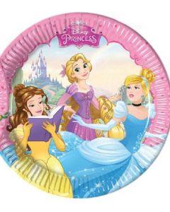 Disney Princess dreaming tallerken 20 cm - 8 stk